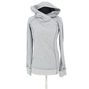 LULULEMON Think Fast Hooded Pullover Thumbholes 6